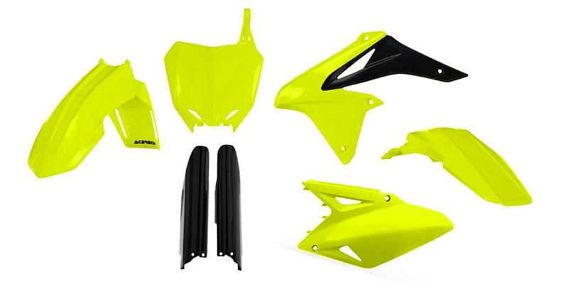 ACERBIS Full Plastic Kit (Fluorescent Yellow)