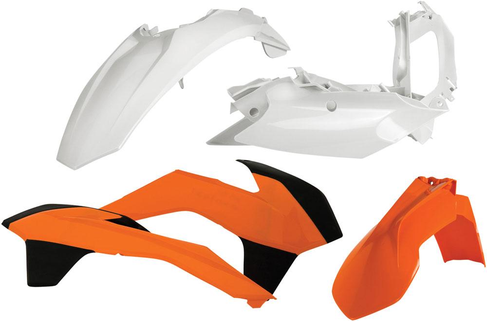ACERBIS Standard Plastic Kit (Orange OEM '13)