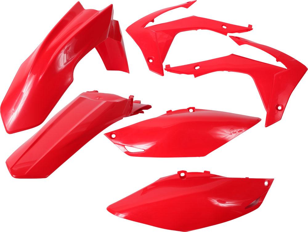 ACERBIS Standard Plastic Kit (Red)