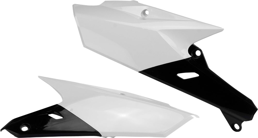 ACERBIS Side Panels (White/Black)