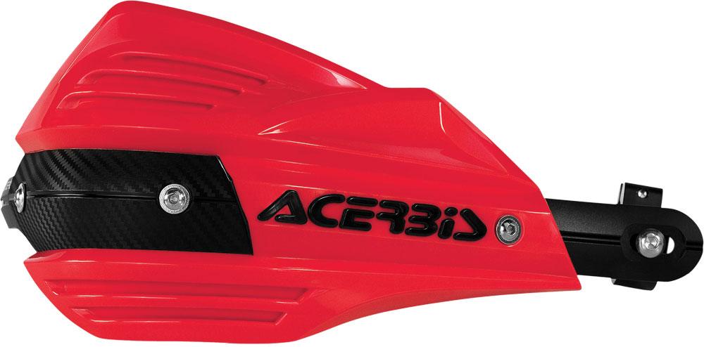 ACERBIS X-Factor Handguards (Red)