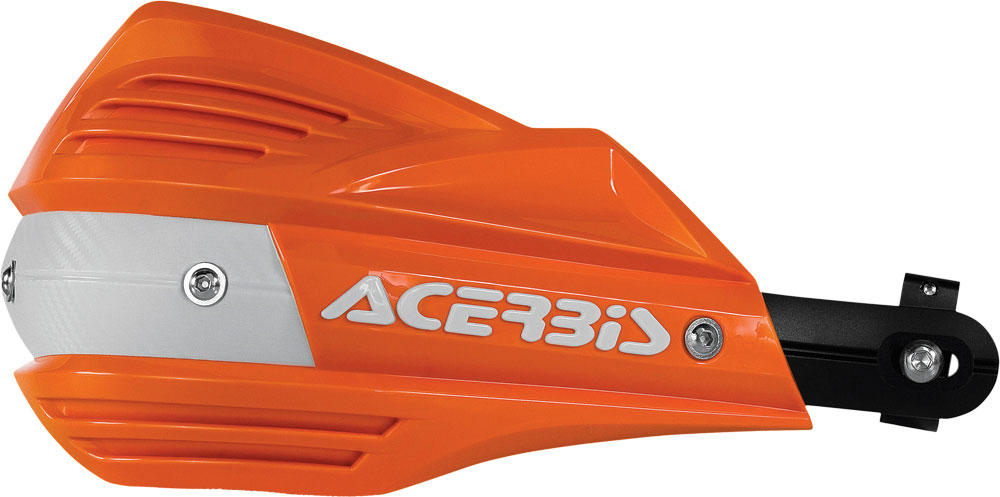 ACERBIS X-Factor Handguards (Orange/White)