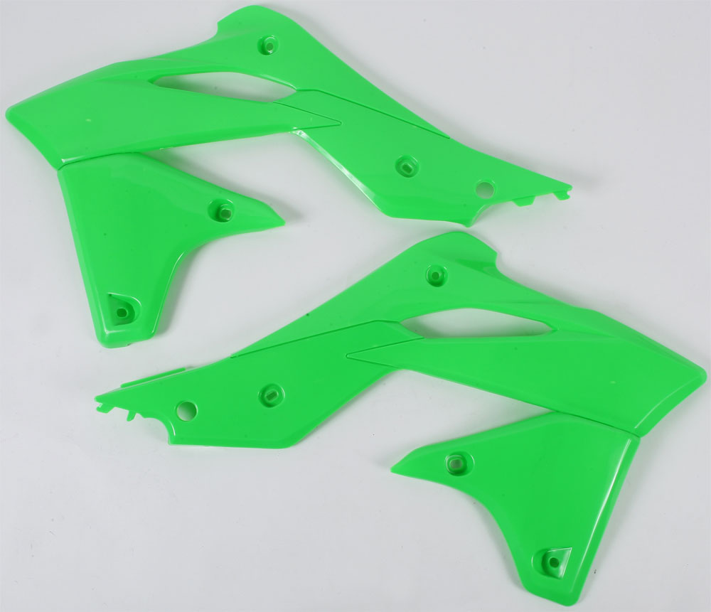 ACERBIS Radiator Shrouds/Covers (Fluorescent Green)