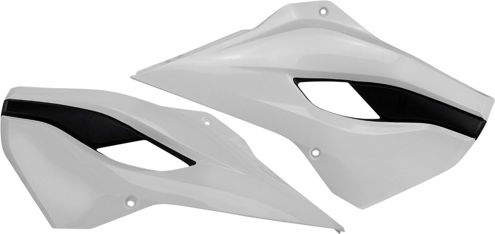 ACERBIS Radiator Shrouds/Covers (White)
