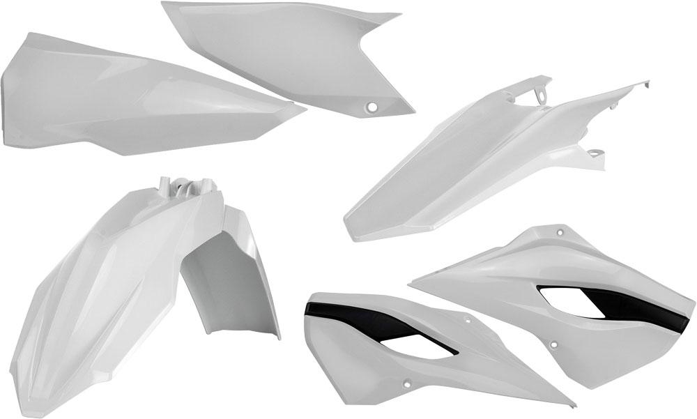 ACERBIS Standard Plastic Kit (White OEM '14)