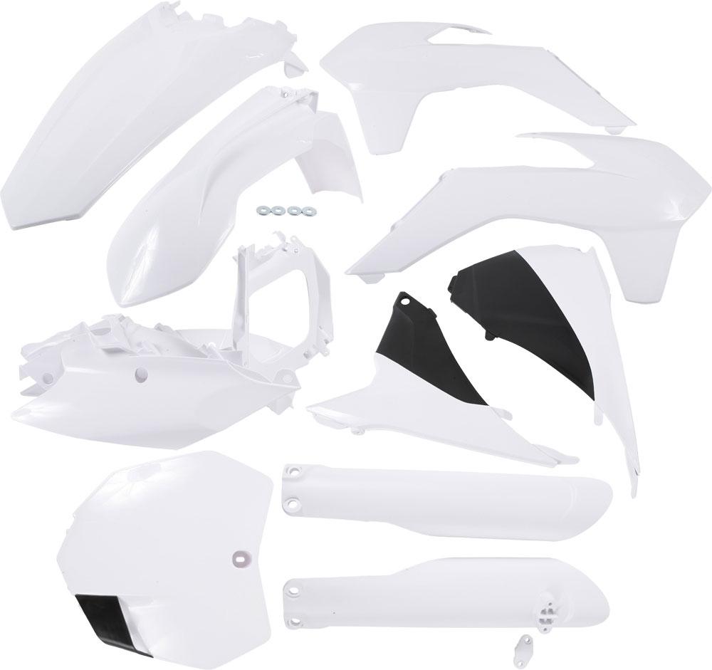 ACERBIS Full Plastic Kit (White)