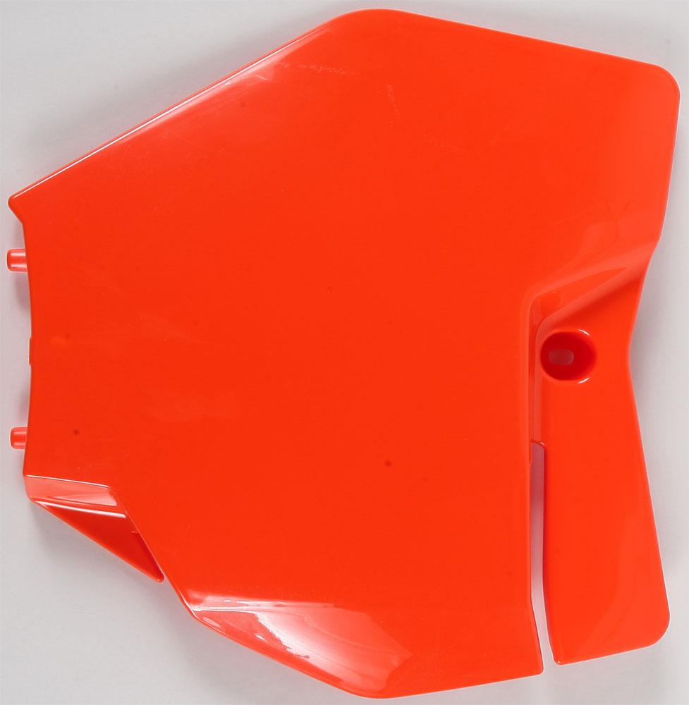 ACERBIS Front Number Plate (Orange)