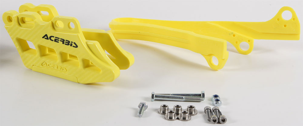 ACERBIS Chain Guide Block and Slider Kit 2.0 (Yellow)