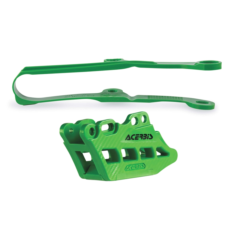 ACERBIS Chain Guide Block and Slider Kit 2.0 (Green)