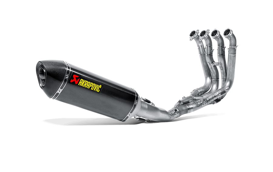 AKRAPOVIC Racing Line Full Exhaust System (Carbon) BMW S1000R (2014-2015)