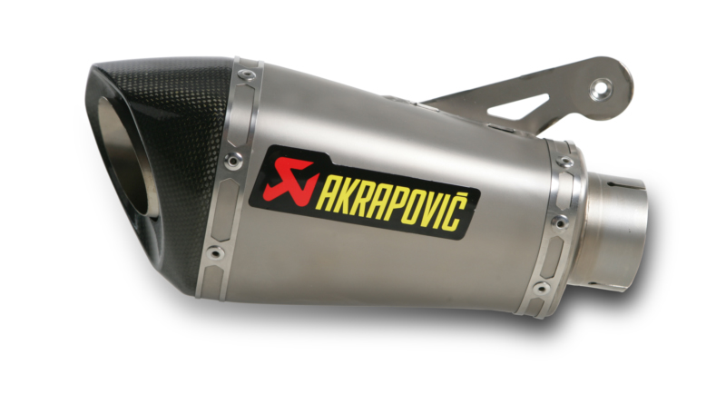 AKRAPOVIC Shorty Slip-On Exhaust System (Titanium) BMW S1000RR (2010-2014) S1000R (2014-2015)