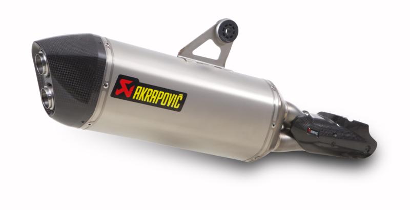 AKRAPOVIC Slip-On Exhaust System (Titanium) BMW R1200GS / Adventure (2013-2015)