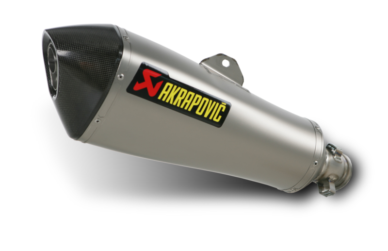 AKRAPOVIC Slip-On Exhaust System (Titanium) BMW K1300R (09-15) K1300S (09-14)