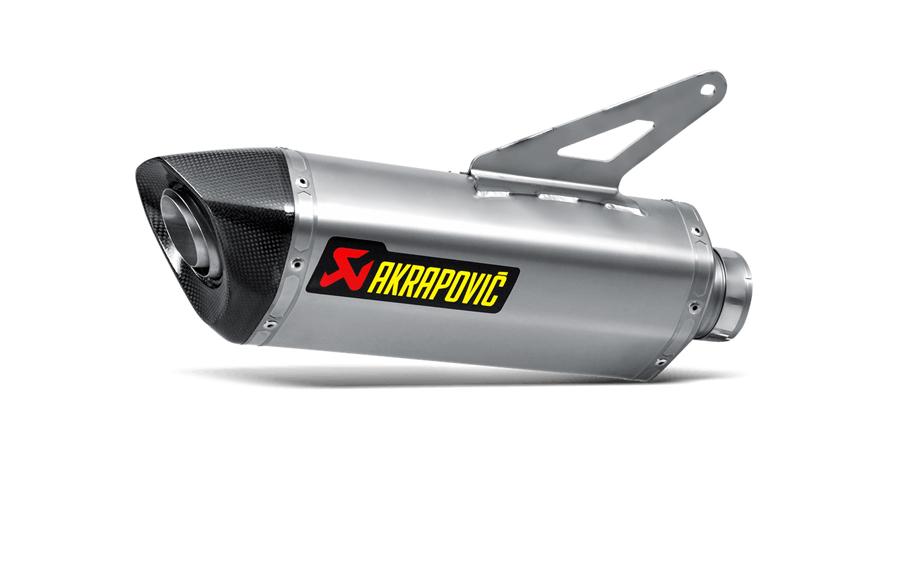 AKRAPOVIC Slip-On Exhaust System (Titanium) Ducati Monster 1200/1200S (2014-2015)