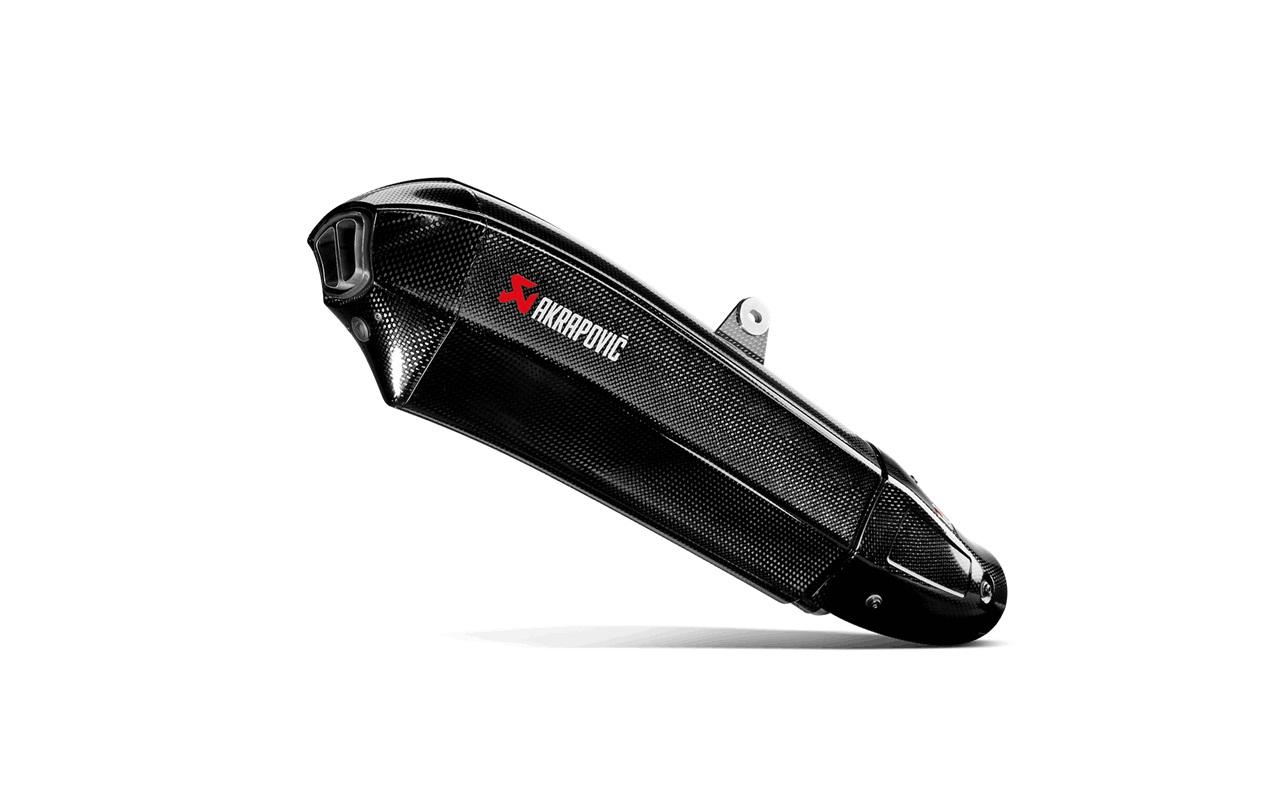 AKRAPOVIC Slip-On Exhaust System (Carbon) Kawasaki Ninja H2 (2015)