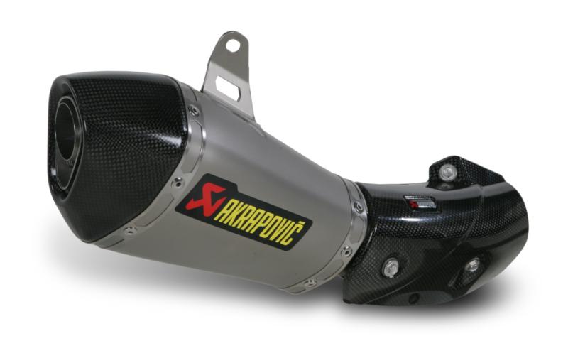 AKRAPOVIC Shorty Slip-On Exhaust System (Titanium) Kawasaki Ninja ZX-10R (2011-2014)