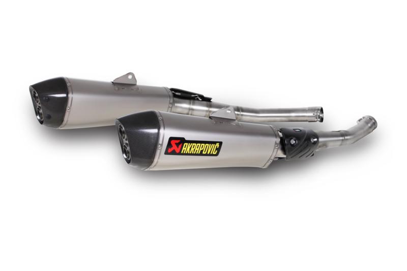 AKRAPOVIC Slip-On Exhaust System (Titanium) Kawasaki ZZR1400, Ninja ZX14R (2012-2014)