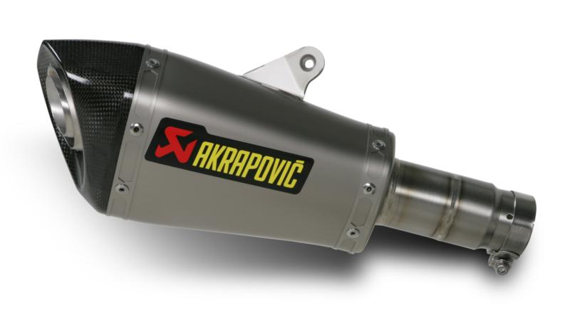 AKRAPOVIC Shorty Slip-On Exhaust System (Titanium)