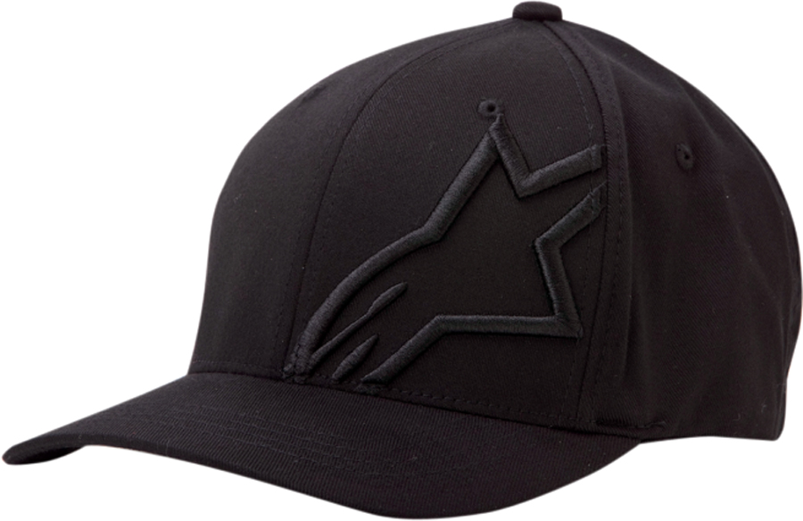 Alpinestars Flexfit Hat (Corp Shift 2, Black/Black)