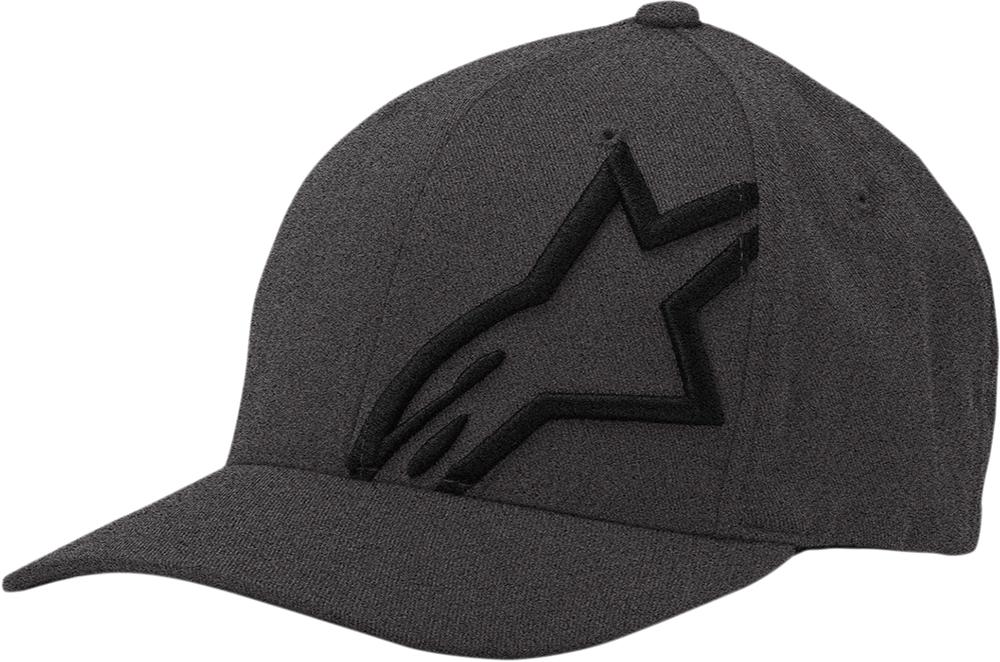 Alpinestars CORP SHIFT 2 Curved Bill Flex Fit Hat/Cap (Grey/Black)