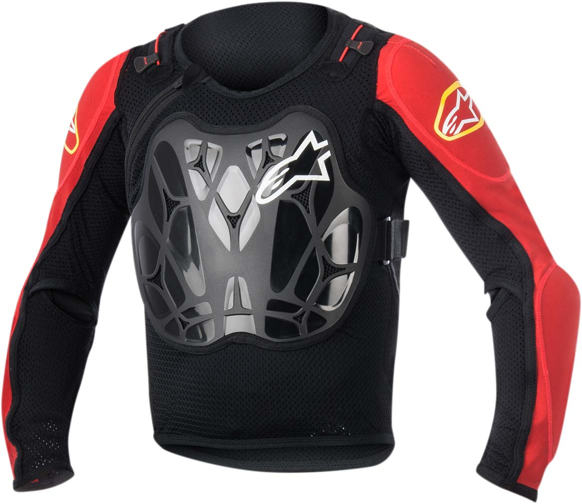 Alpinestars Kids/Youth BIONIC Protection Jacket (Black/Red)