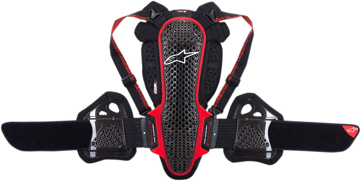 Alpinestars Nucleon KR-3 Back/Rib Protector CE Level 2 (Black/Red)