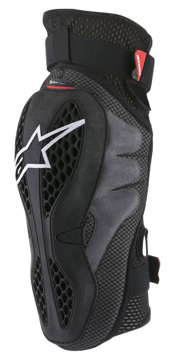 Alpinestars MX/Motocross SEQUENCE Knee Protector (Black/Red)