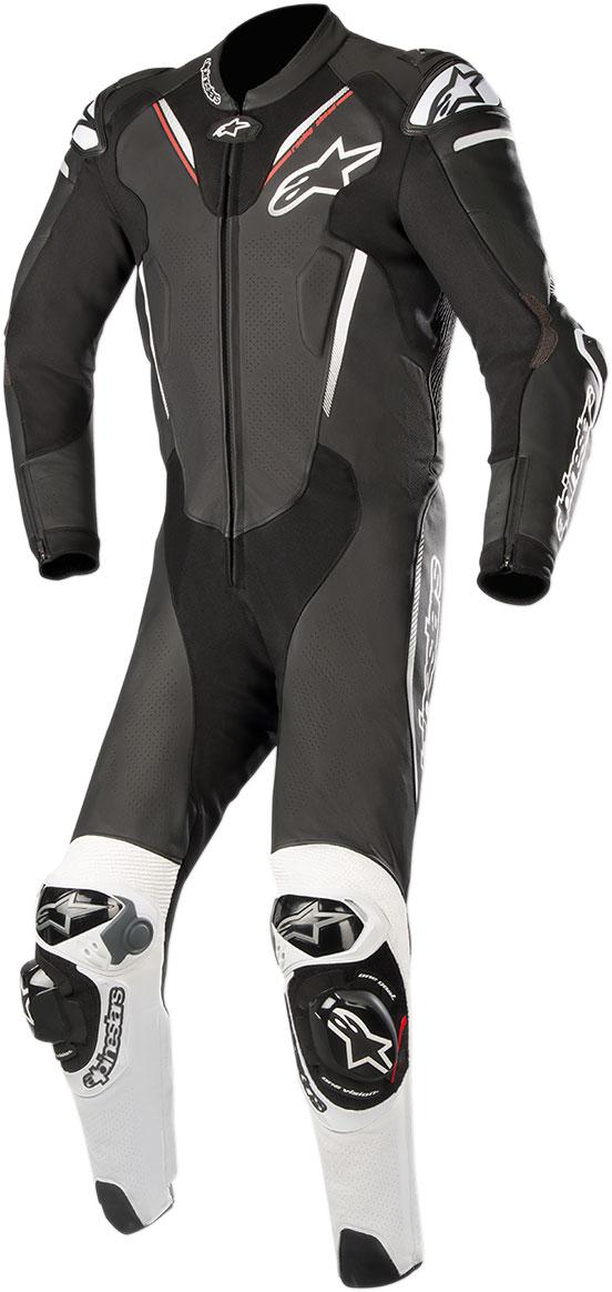 Alpinestars ATEM v3 1-Piece Leather Suit (Black/White)