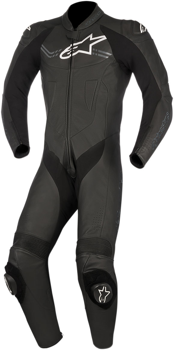 Alpinestars CHALLENGER v2 1-Piece Leather Suit (Black)