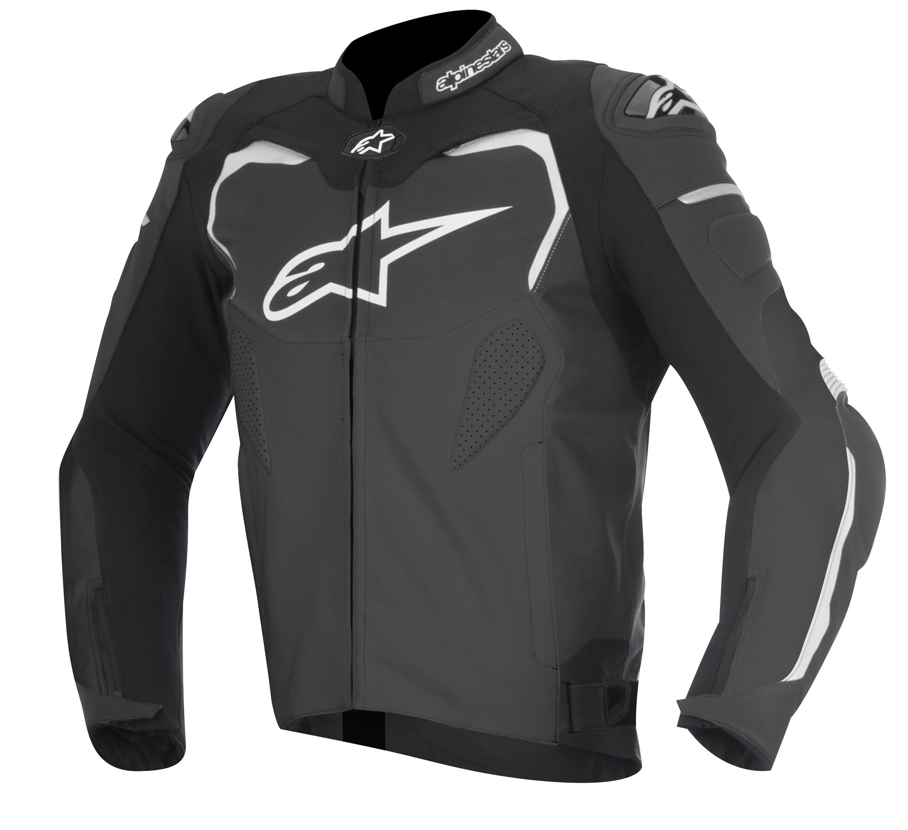 Alpinestars GP PRO Leather Jacket (Black)