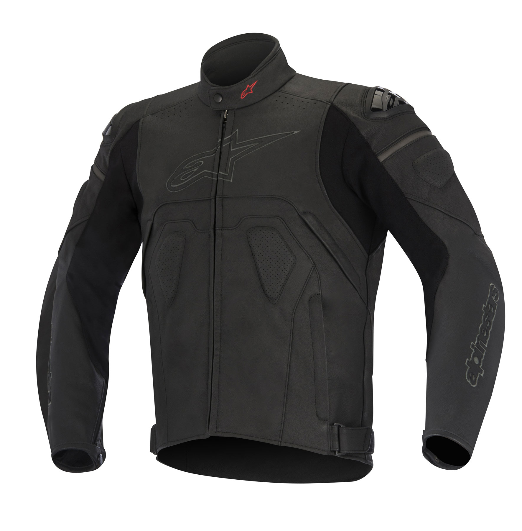 Alpinestars CORE Leather Jacket (Black)