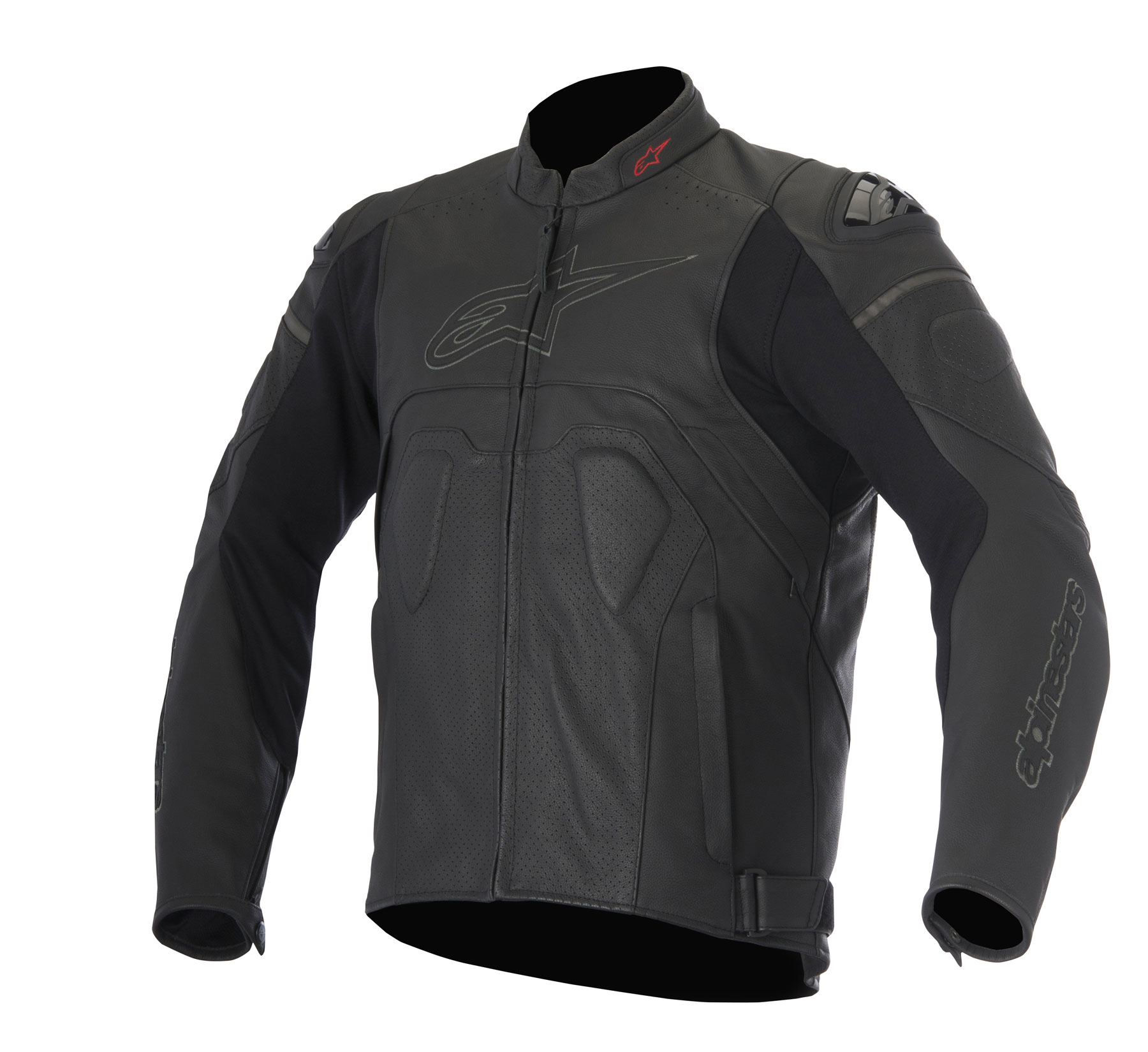 Alpinestars CORE AIRFLOW Leather Jacket (Black)