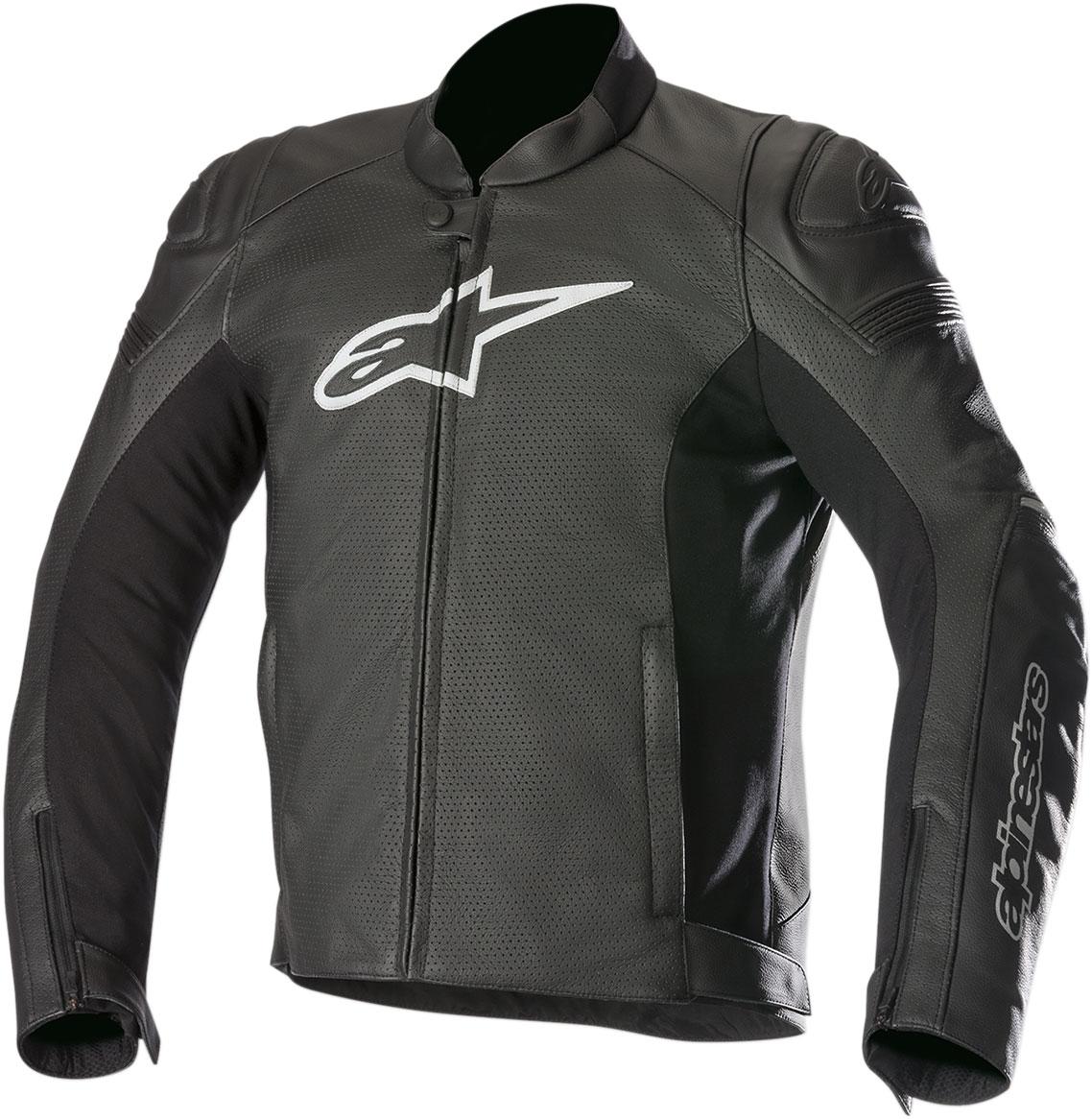 Alpinestars SP-1 AIRFLOW Perforated Leather Jacket (Black)