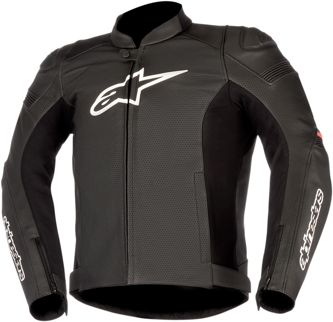 Alpinestars SP-1 AIRFLOW Perforated Leather Jacket (Black/Red)