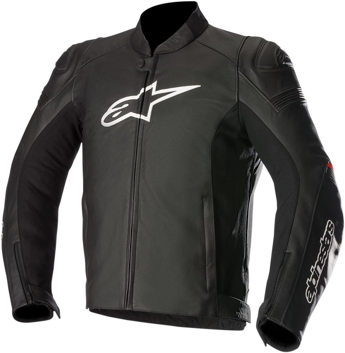 Alpinestars SP-1 Leather Jacket (Black/Red)
