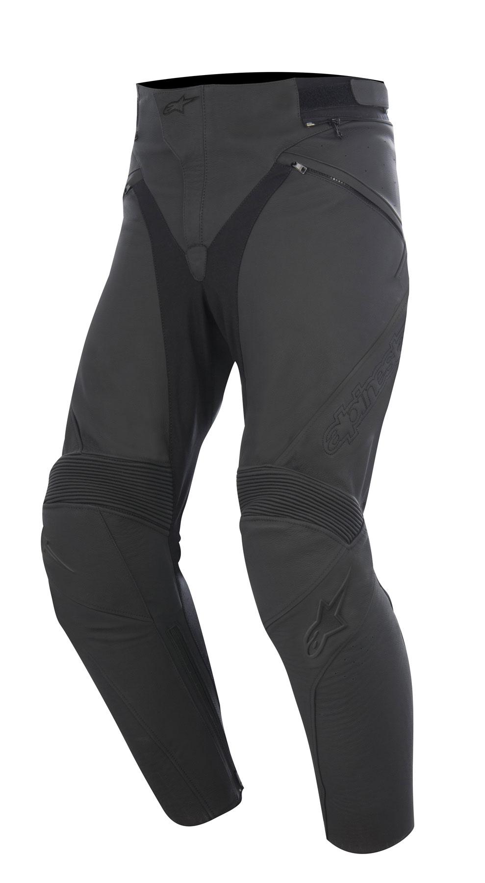 Alpinestars JAGG Leather Pants (Black)