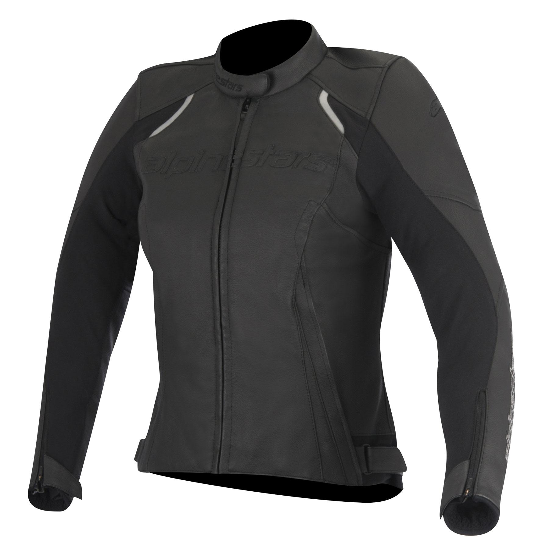 Alpinestars Stella DEVON Leather Jacket (Black)