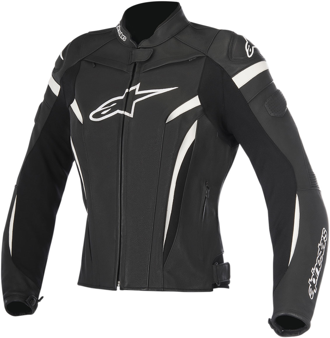Alpinestars Stella GP PLUS R V2 Leather Jacket (Black/White)