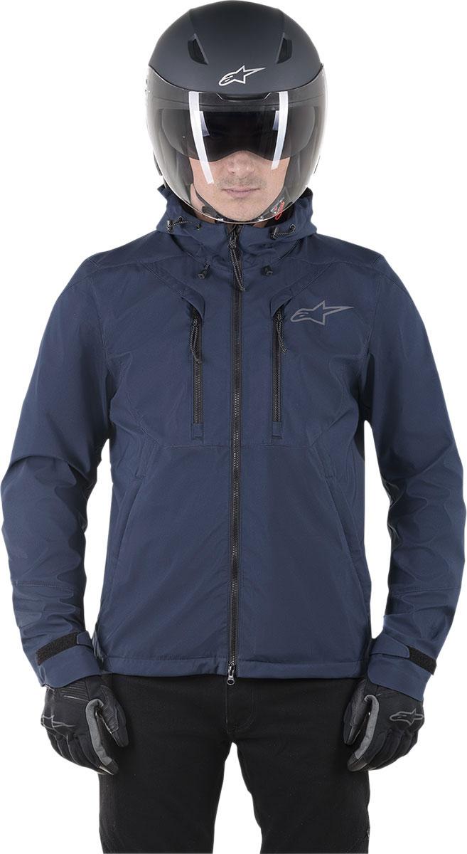 Alpinestars Motorcycle jackets Domino Tech Hoodie Blue Navy