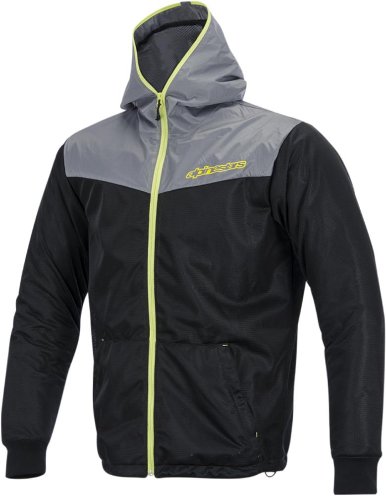 Alpinestars RUNNER AIR Textile Motorcycle Jacket (Gray/Yellow)