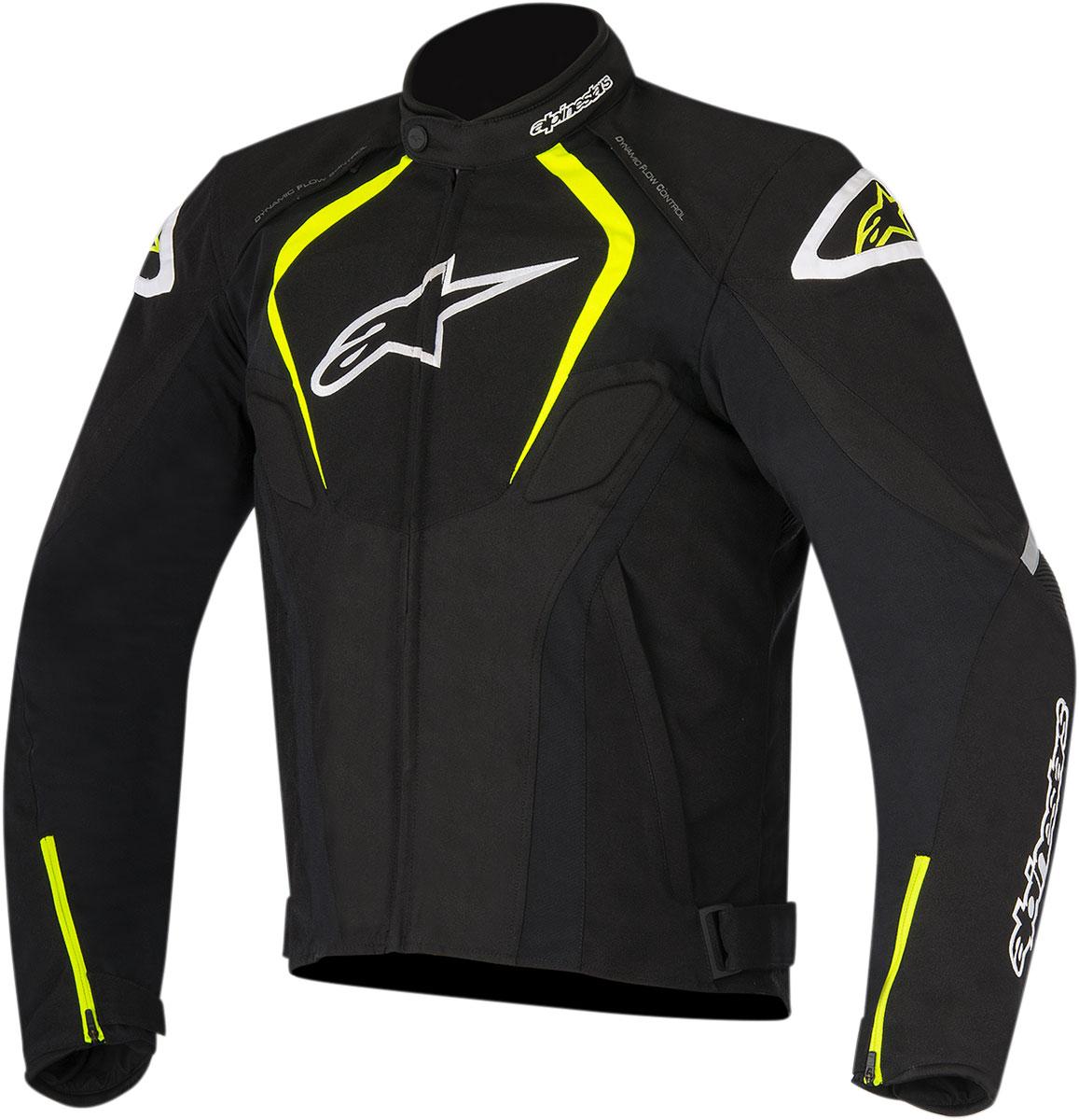 Alpinestars T-JAWS Waterproof Textile Jacket (Black/White/Yellow)