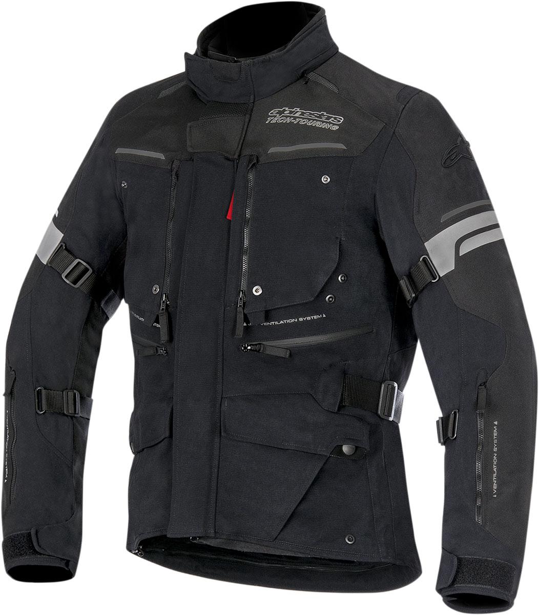Alpinestars VALPARAISO 2 Drystar Adventure Touring Jacket (Black/Anthracite)
