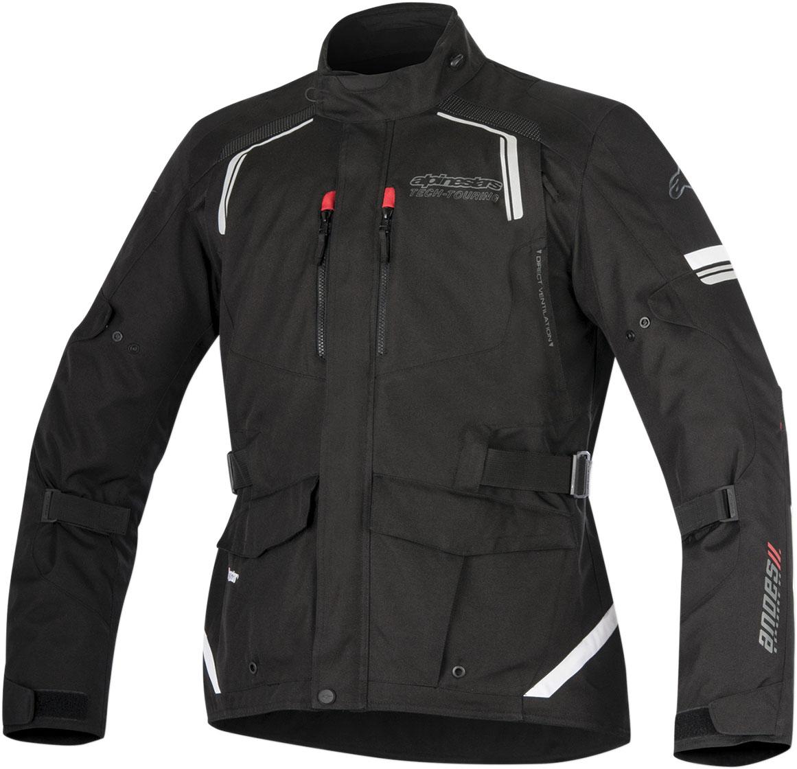 Alpinestars ANDES V2 Drystar Adventure Touring Motorcycle Jacket (Black)