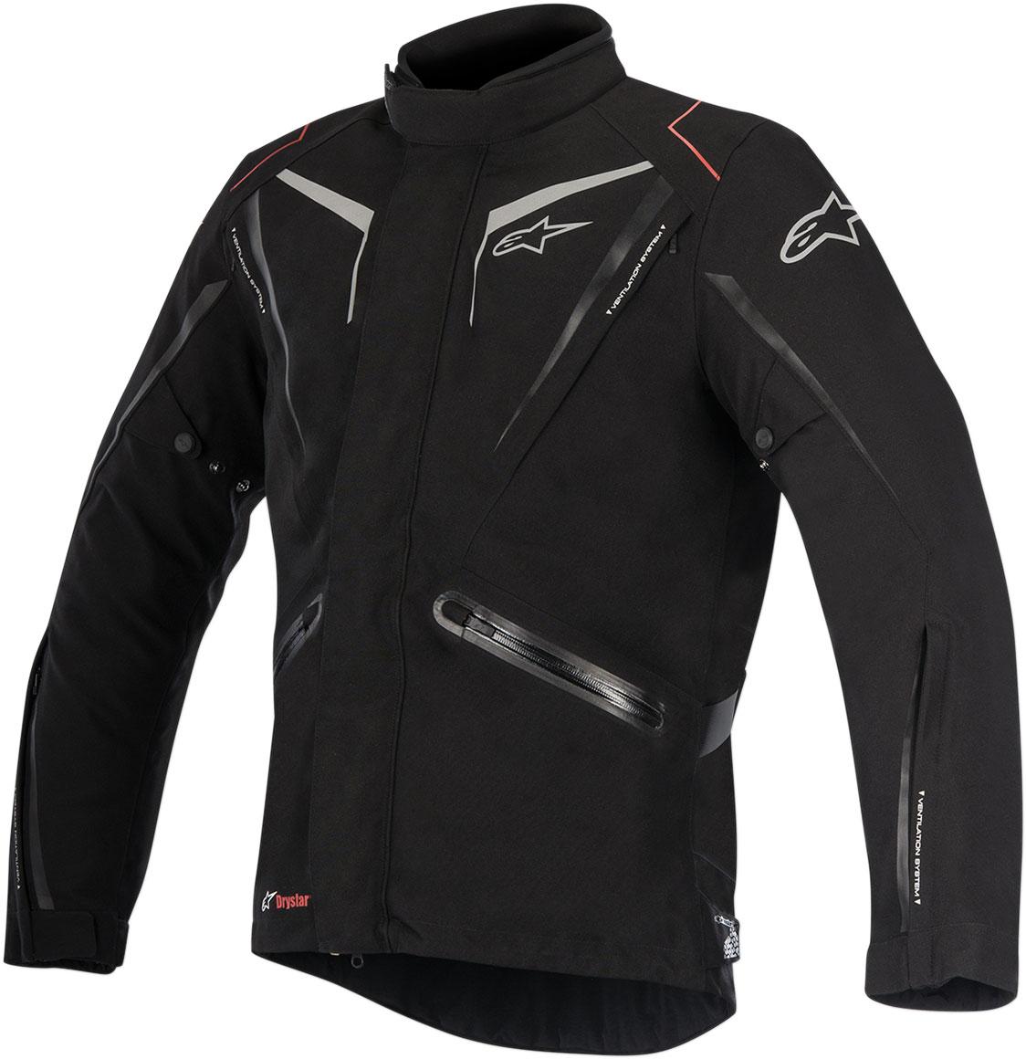 Alpinestars YOKOHAMA Drystar Adventure-Touring Jacket (Black)