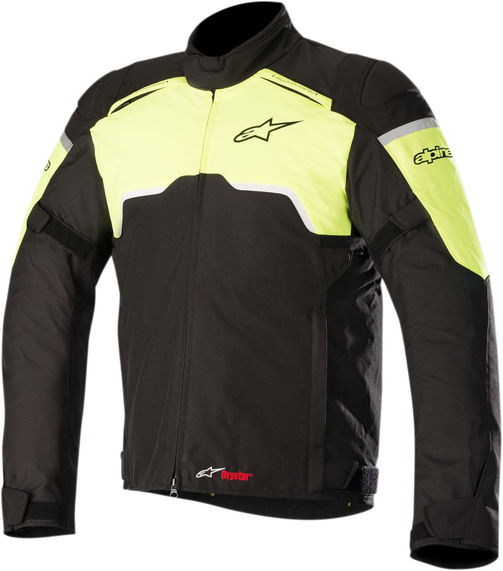 Alpinestars HYPER Drystar Sport-Touring Jacket (Black/Flo Yellow)