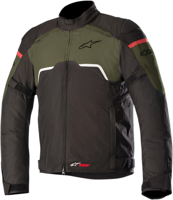 Alpinestars HYPER Drystar Sport-Touring Jacket (Black/Military Green)