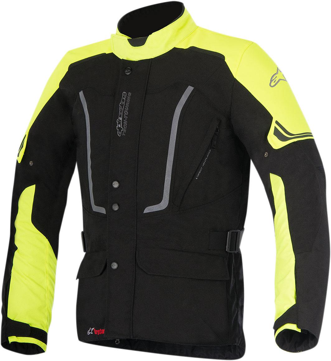 Alpinestars VENCE Drystar Adventure-Touring Jacket (Black/Flo Yellow)