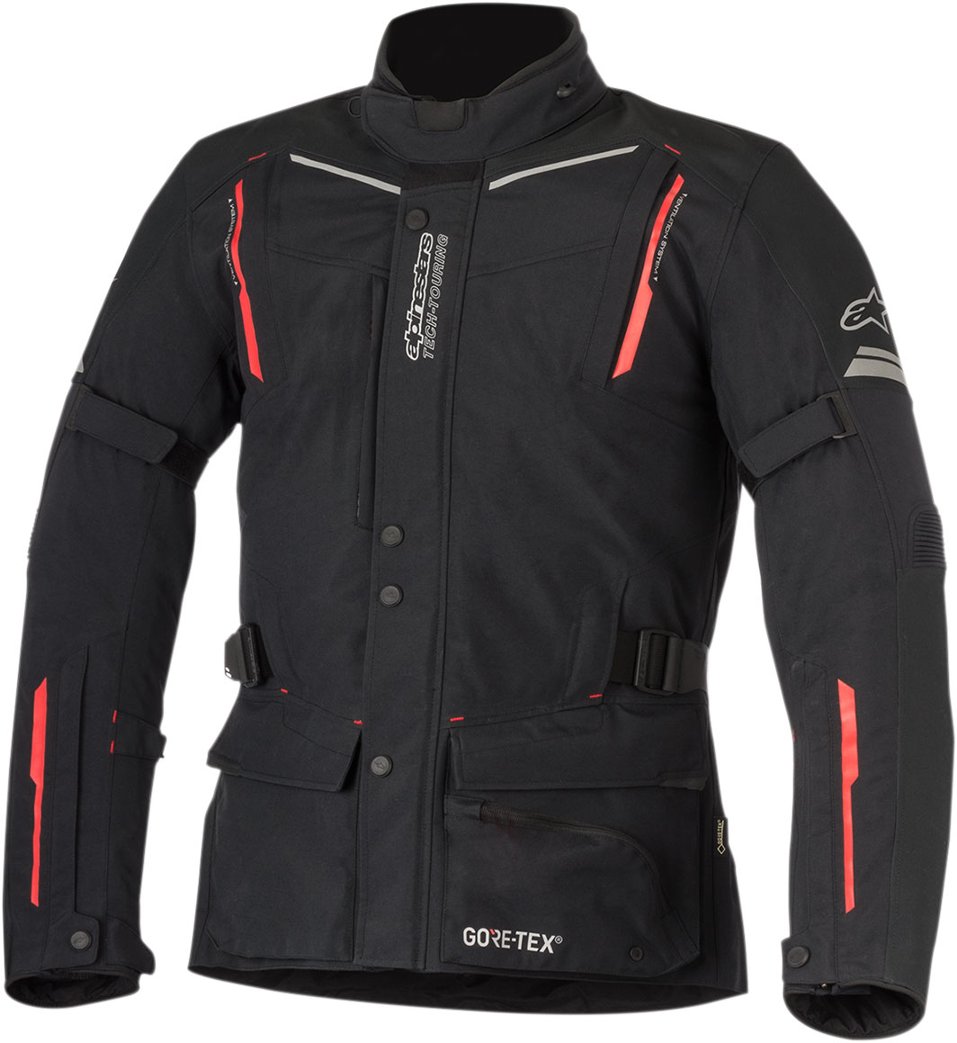Alpinestars GUAYANA Drystar Adventure-Touring Jacket (Black/Red)