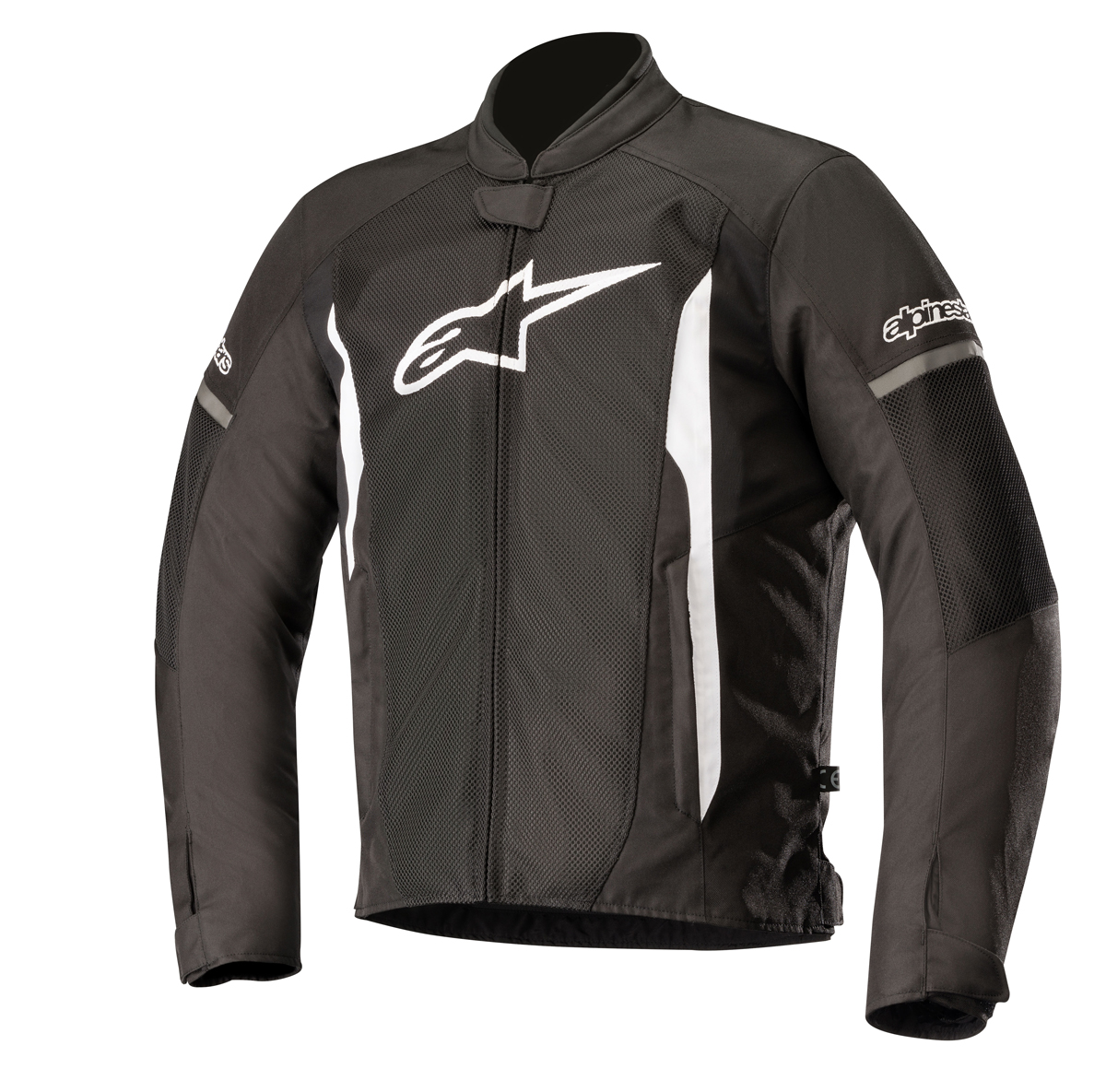 professional design best price latest selection Alpinestars T-FASTER Air Textile/Mesh Motorcycle Riding Jacket (Black/White)
