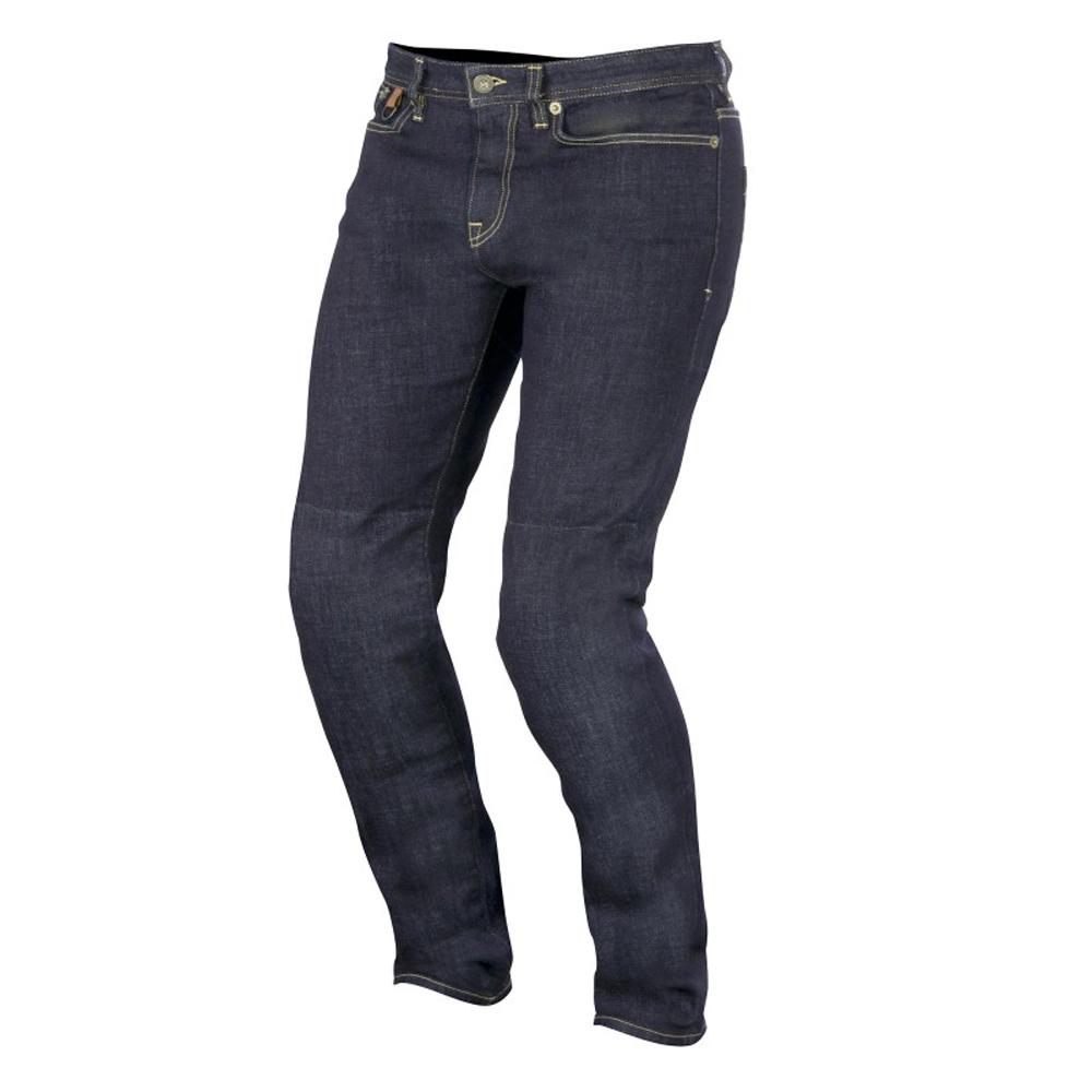 Alpinestars OSCAR Charlie Denim Motorcycle Pants/Jeans (Indigo)